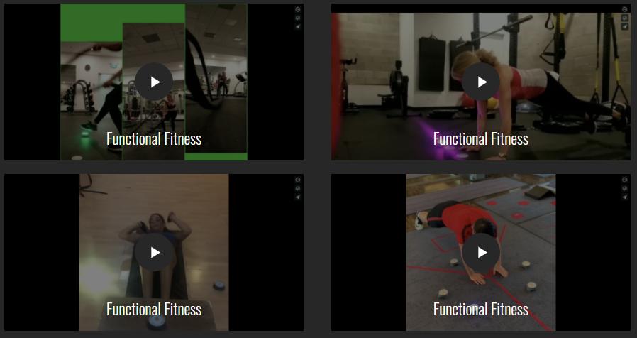 BlazePod Functional Fitness Trainings