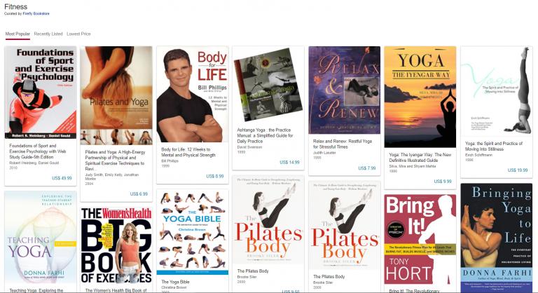 AbeBooks Fitness