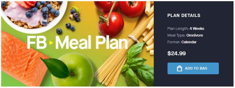 Fitness Blender Meal Plan