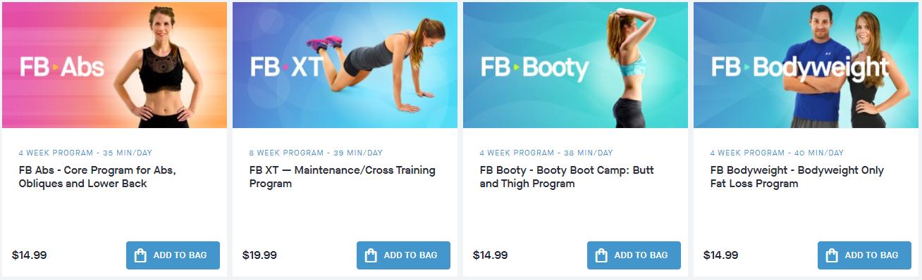 Fitness Blender Programs