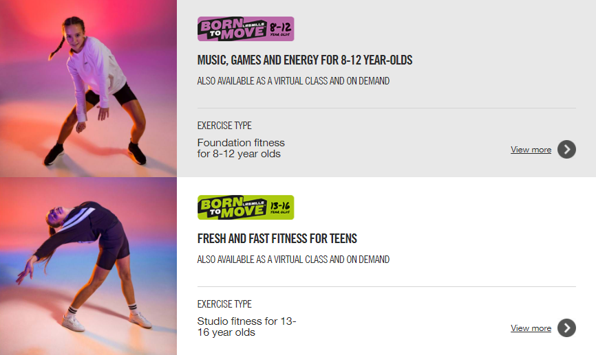 Les Mills High Kids and Teenagers Training 2