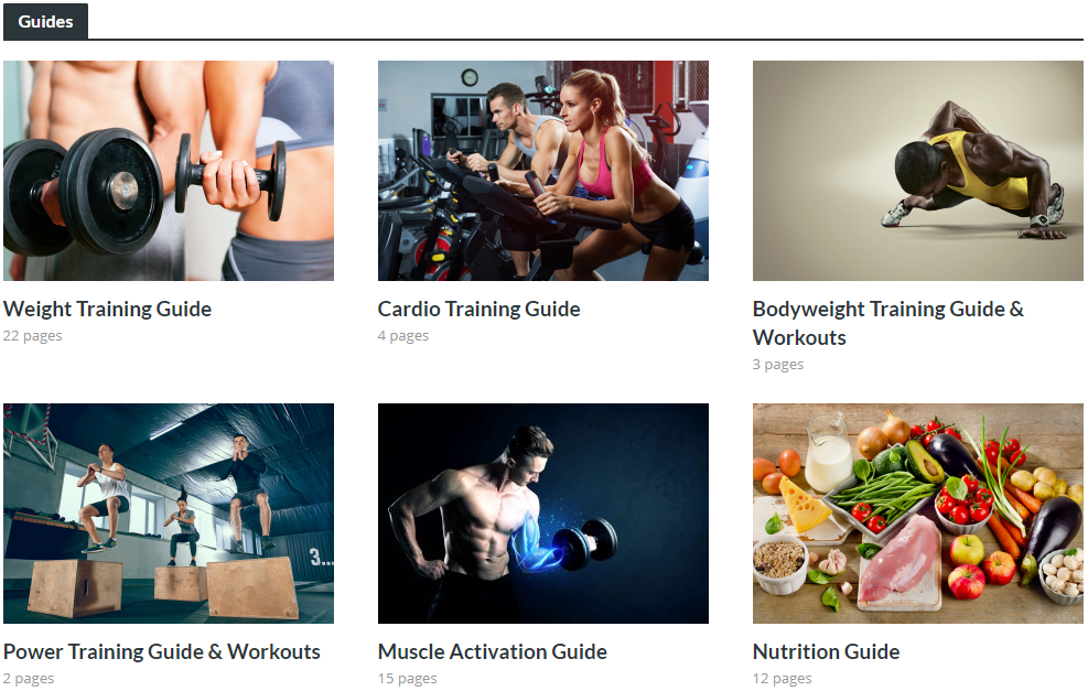 WeightTraining.guide - Guides