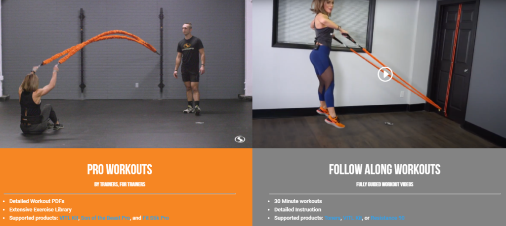Stroops Training Room - Pro Workouts & Follow Along Workouts