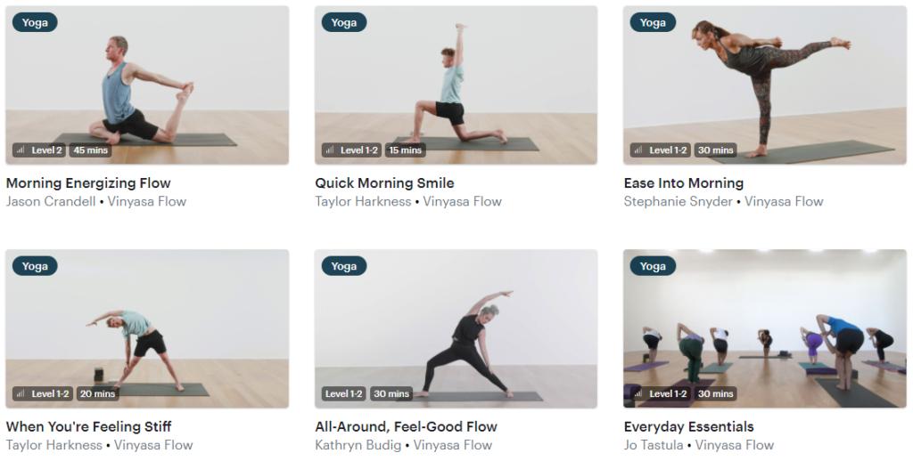 Glo yoga online classes