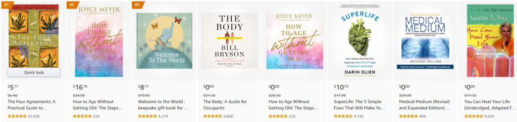 Amazon health books on Healthy & Exercise