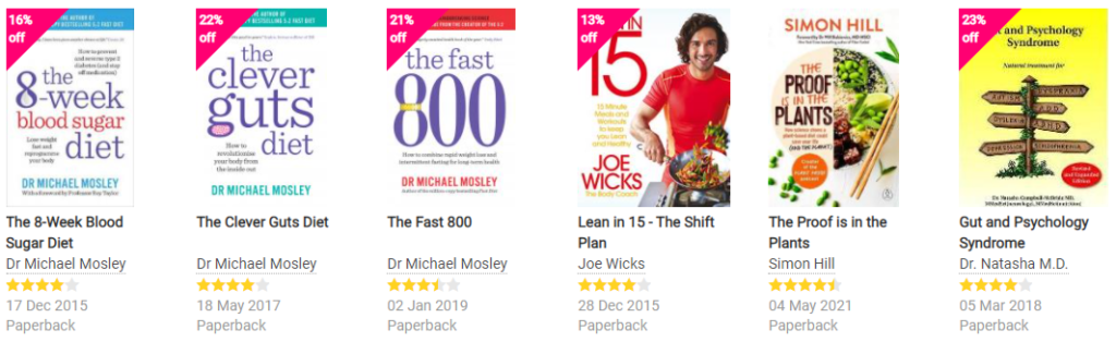 Book Depository Fitness & Diet Books on Healthy & Exercise
