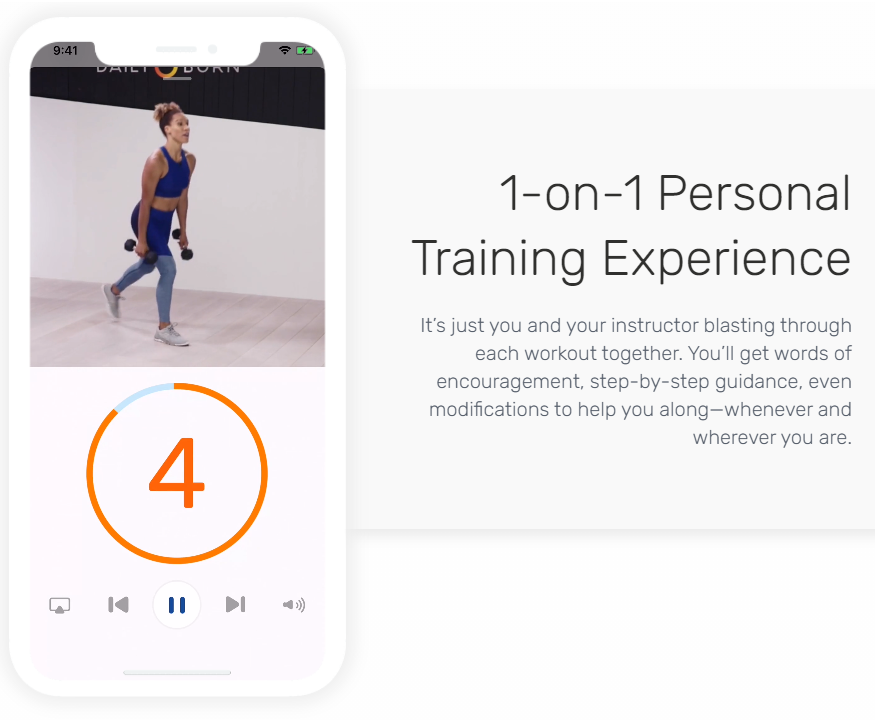Daily Burn HIIT Workout App on Healthy & Exercise