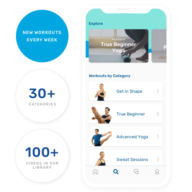 Daily Burn Yoga Workouts App on Healthy & Exercise
