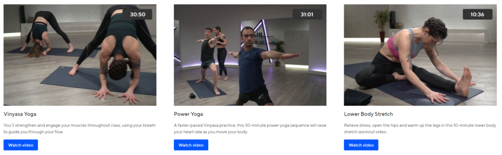 ClassPass Yoga Online Workout Videos on Healthy & Exercise