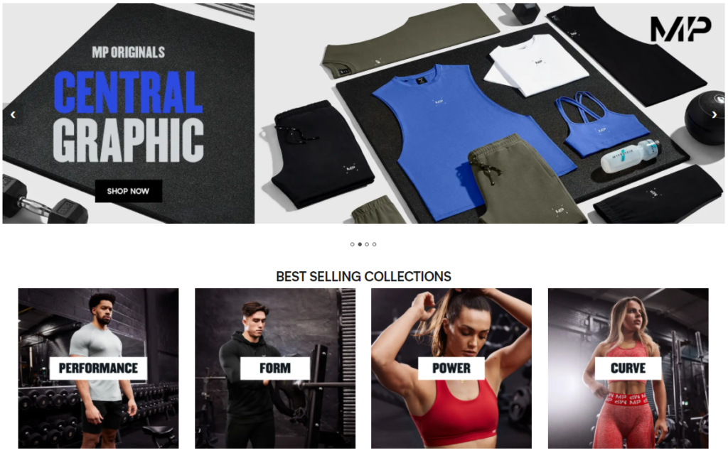 Myprotein Gym Clothing on Healthy & Exercise