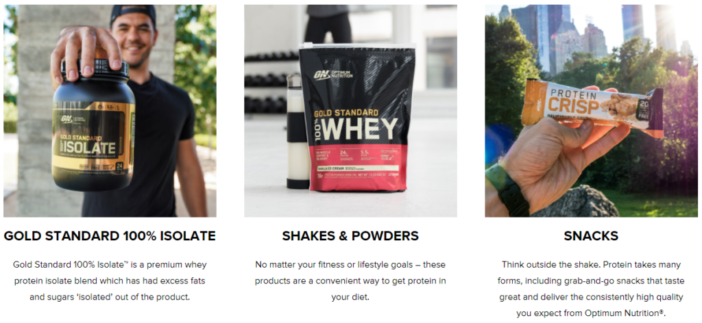 Optimum Nutrition Proteins Part 2 on Healthy & Exercise
