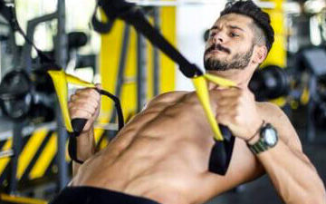 TRX Weight Suspension Training on Healthy & Exercise